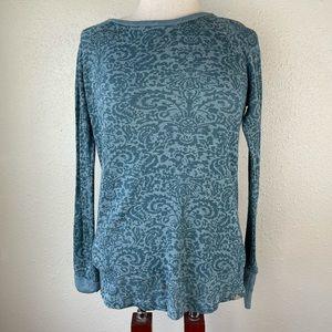 Prana Long Sleeve Top Size M EUC